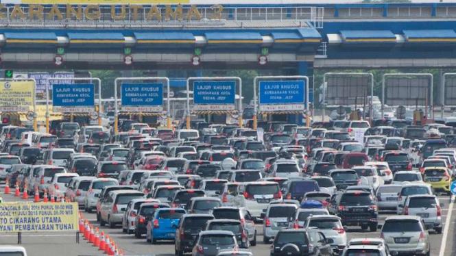 PENTING ... Mulai 23 Mei Tak Ada Lagi Transaksi Tol di Cikarang Utama !!