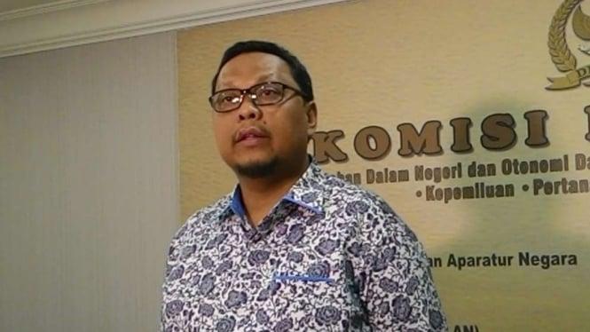 Ketua Panitia Khusus RUU Pemilu, Lukman Edy.