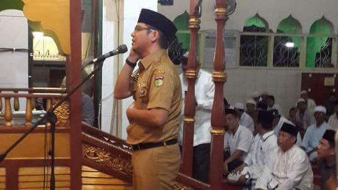 Jadi Muazin Pasha Ungu Bikin Heboh Jemaah Masjid Jami Palu