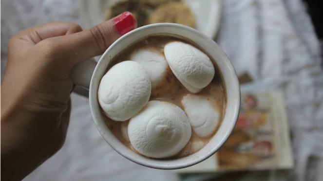 Ilustrasi marshmallow
