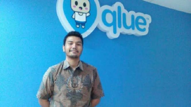 Pendiri dan CEO Qlue, Rama Raditya