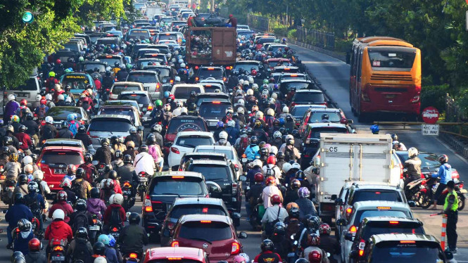 Kemacetan Ibu Kota Jakarta