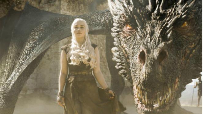 Daenerys Targaryen di serial Game of Thrones Season.