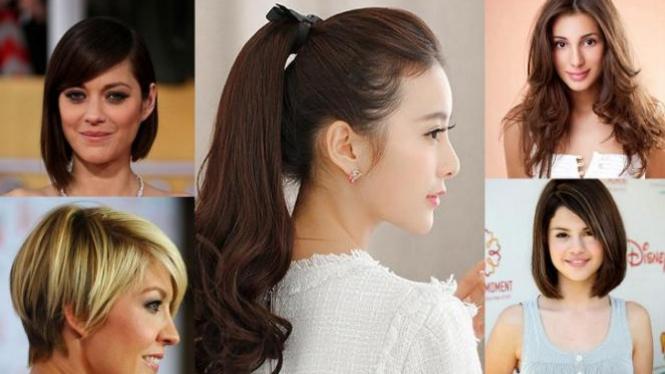 Lima Model Rambut Wanita Yang Pas Untuk Wajah Oval