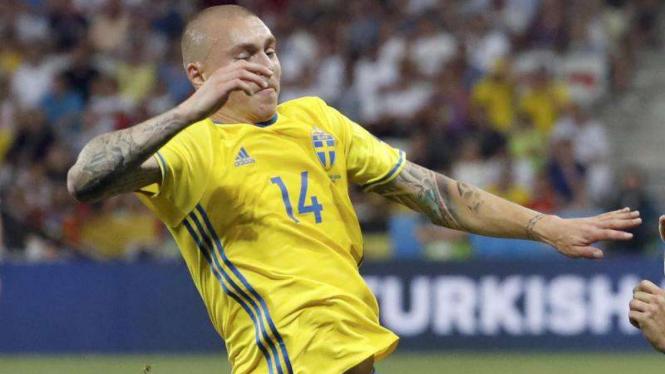 Pemain bertahan Timnas Swedia, Victor Lindelof