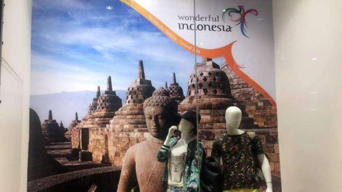 Logo kampanye wisata Wonderful Indonesia.
