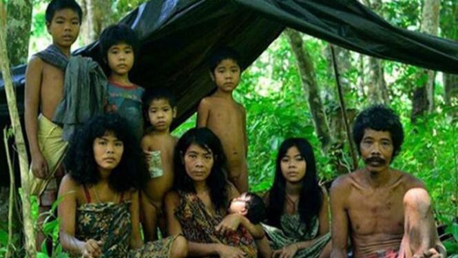 Suku Anak Dalam di Jambi.