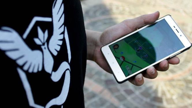 Ilustrasi smartphone.