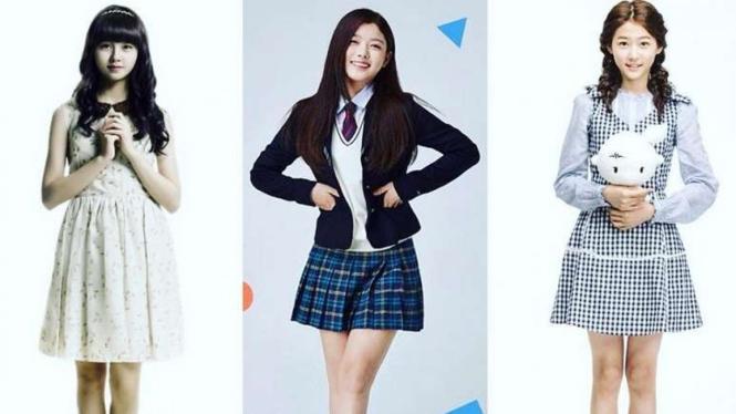 Kim So Hyun, Kim Yoo Jung, Kim Sae Ron