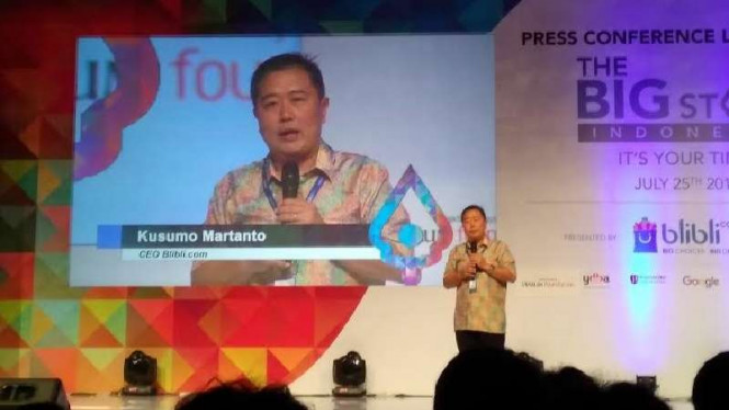 CEO Blibli, Kusumo Martanto