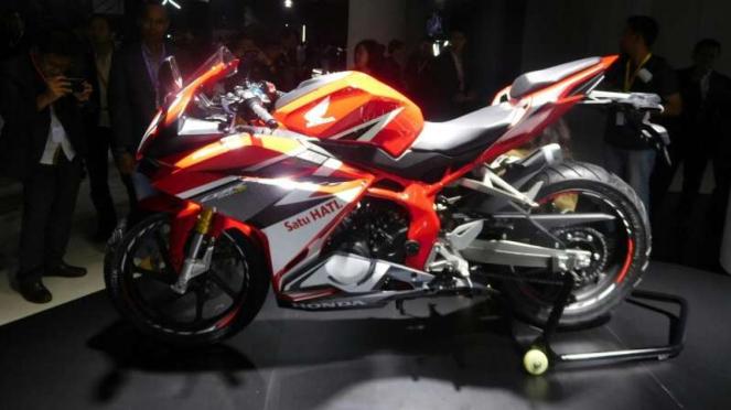 Peluncuran Honda CBR250RR di Jakarta, Senin, 25 Juli 2016.