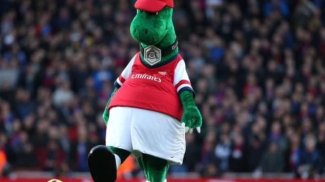 Gunnersaurus, maskot Arsenal
