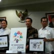 Peluncuran logo Asian Games 2018