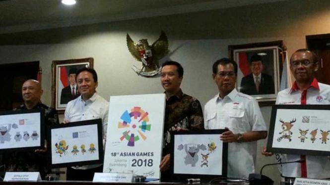 Peluncuran logo Asian Games 2018