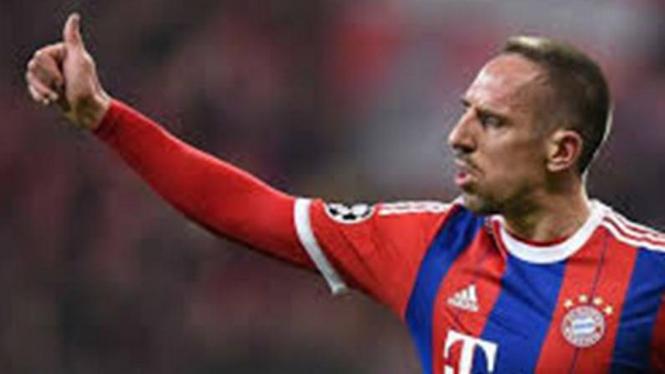 Mantan Gelandang Bayern Munich, Frank Ribery.