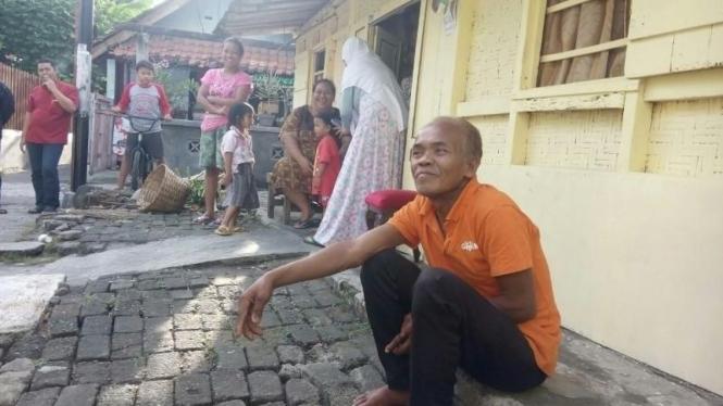 Waluyo, warga Yogyakarta yang disangka telah meninggal.