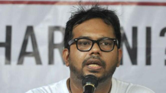 Pegiat hak asasi manusia (HAM), Haris Azhar.