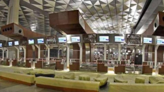 Terminal 3 Ultimate Bandara Soekarno Hatta, Tangerang, beroperasi mulai hari ini.