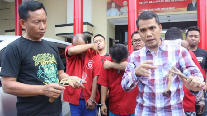 Modus Baru Pencurian Rumah dengan Ketapel di Surabaya