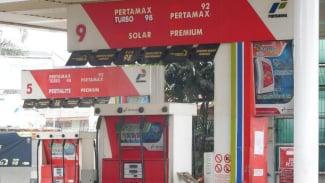 Ilustrasi Stasiun Pengisian Bahan Bakar Umum (SPBU).