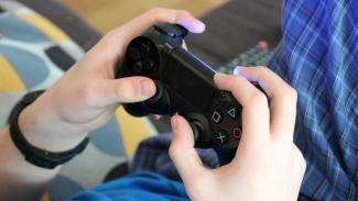Ilustrasi video game.
