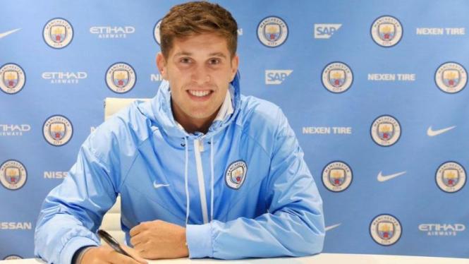 Pemain bertahan Manchester City, John Stones