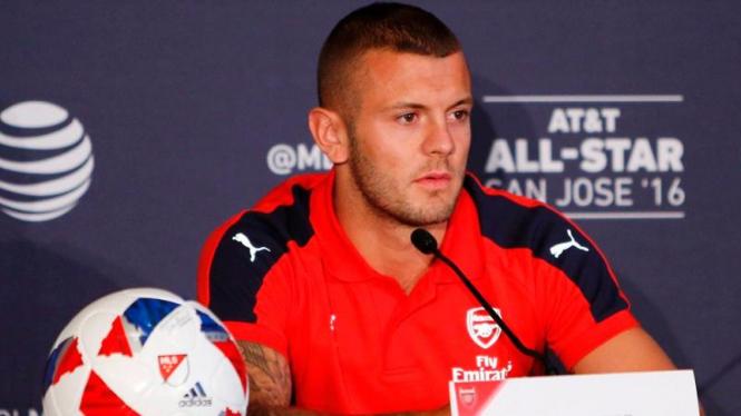 Gelandang Arsenal, Jack Wilshere.