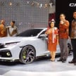 Honda Civic Hatchback Prototype di GIIAS 2016.