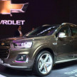 All New Captiva dan Trailblazer Terbaru Mejeng di GIIAS 2016
