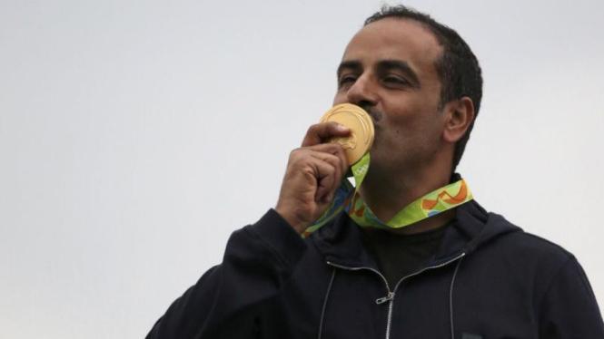 Fehaid Al-Deehani jadi atlet tanpa negara pertama peraih emas Olimpiade