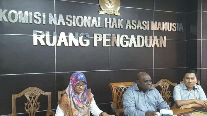 Ruang Pengaduan di kantor Komisi Nasional Hak Asasi Manusia.