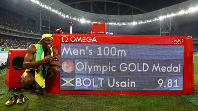 Melihat Aksi Pelari Tercepat di Dunia, Usain Bolt.