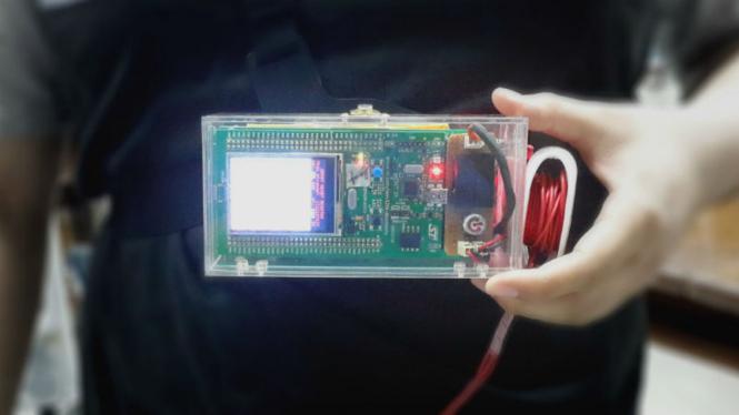 Ilustrasi alat deteksi serangan jantung.