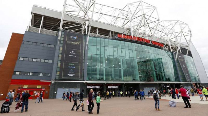 Markas Manchester United, Old Trafford