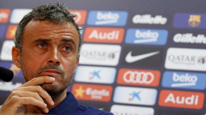 Pelatih Barcelona, Luis Enrique