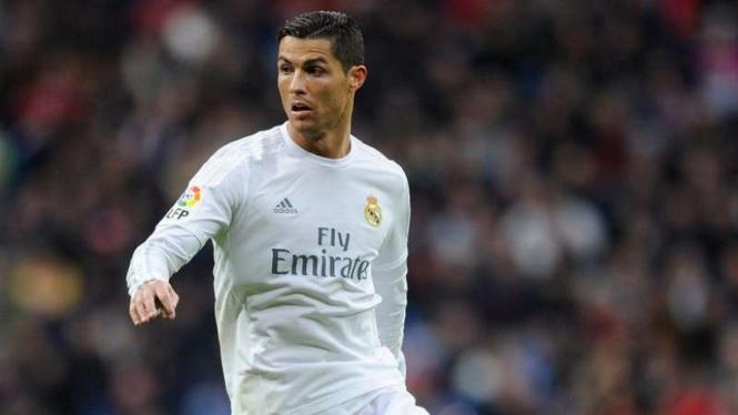 Cristiano Ronaldo saat masih berseragam Real Madrid