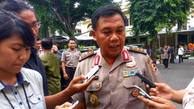 Ketua Pelaksana Satuan Tugas Sapu Bersih Pungutan Liar, Komjen Pol Dwi Priyatno.