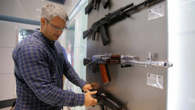 Senjata AK-47/Ilustrasi.