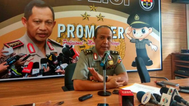 Kepala Divisi Hubungan Masyarakat Mabes Polri Irjen Pol Boy Rafli Amar.