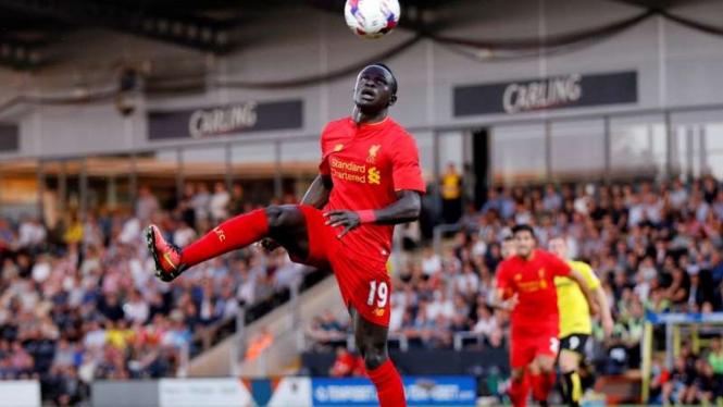 Pemain Liverpool, Sadio Mane.