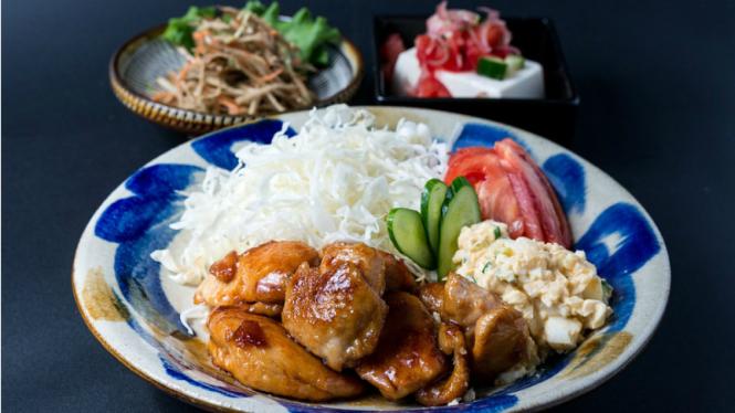Ilustrasi kuliner Jepang