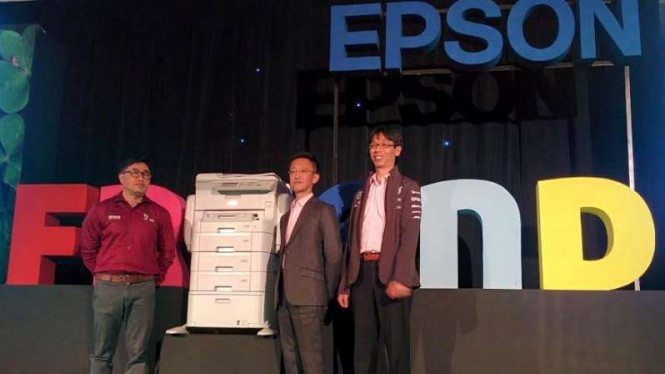 Launching printer Epson, Bali, 25 Agustus 2016.
