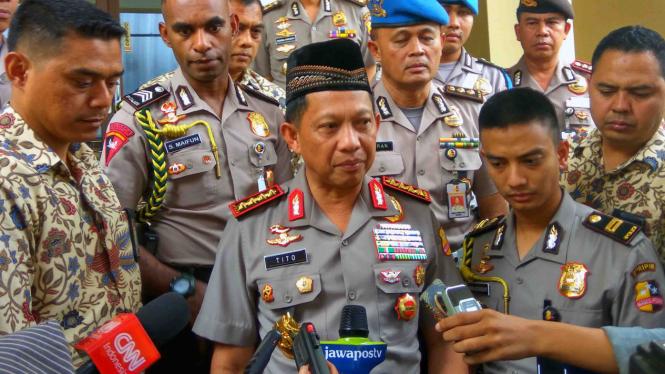 Kepala Polri Jenderal Tito Karnavian.