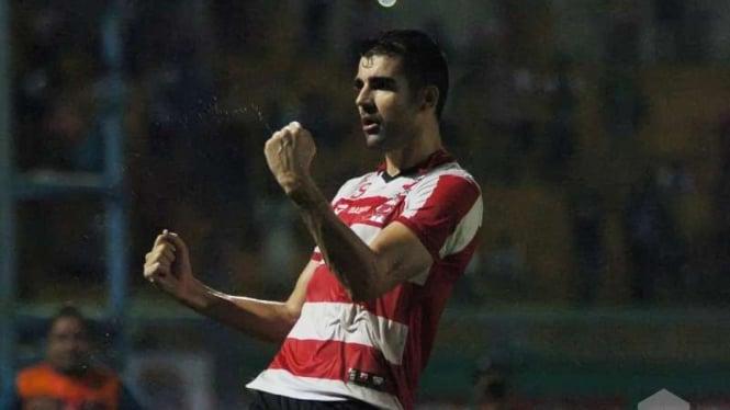 Penyerang Madura United, Pablo Rodriguez Aracil