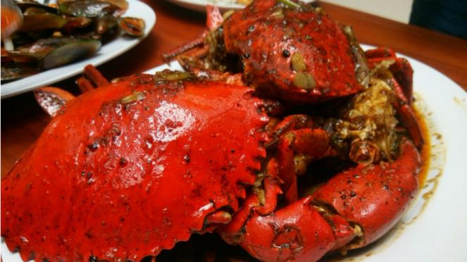Kuliner Seafood Kepiting