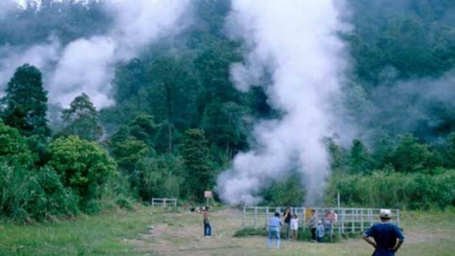 Kawah Kamojang.