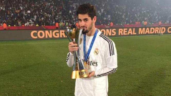 Isco Alarcon, gelandang Real Madrid.