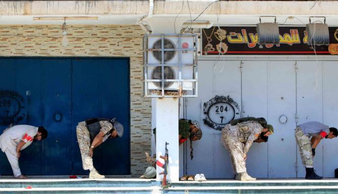 Sisi Lain Militer Libya Di Tengah Peperangan