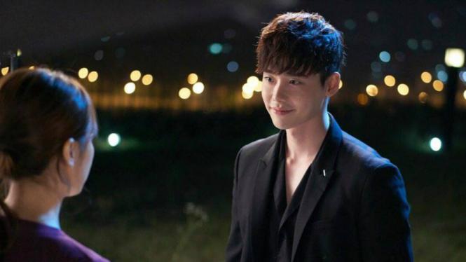 Lee Jong Suk dalam drama W.