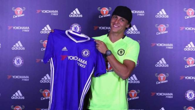 David Luiz kembali ke Chelsea